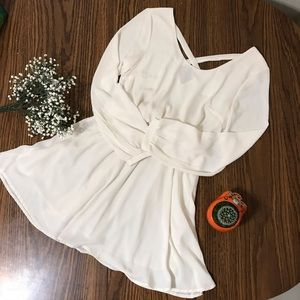 Nordstorm LUSH Off White Dress
